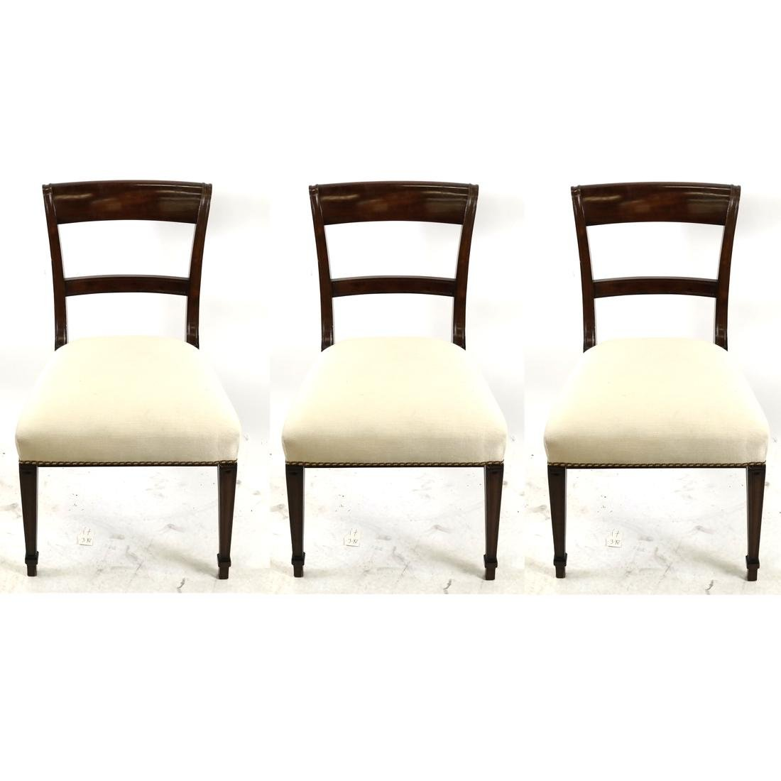 Set of 3 Biedermeier-Style Side Chairs