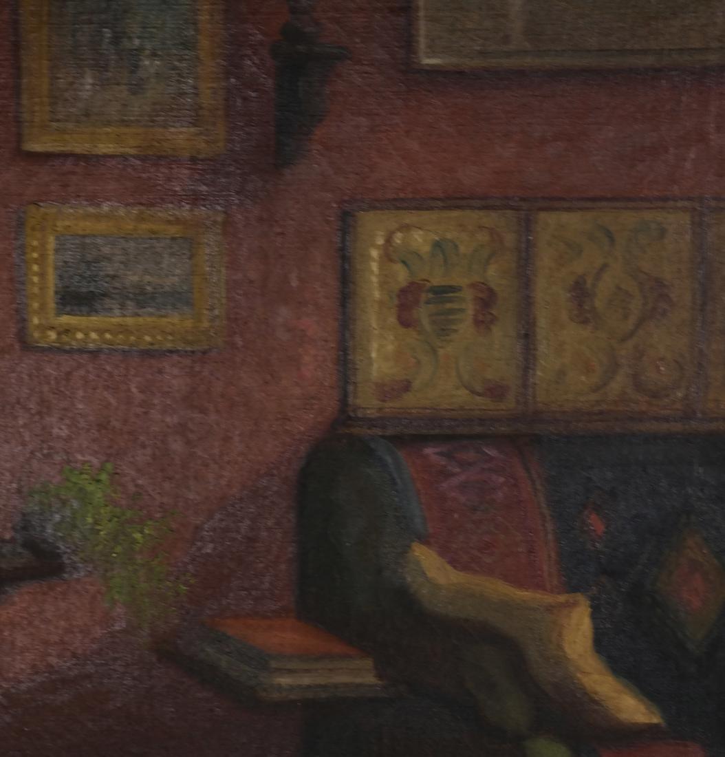 Winkler - Interior Scene - Oil on Canvas - 4