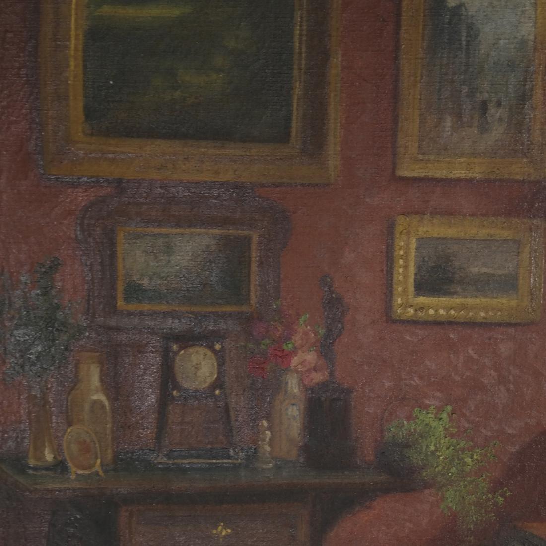 Winkler - Interior Scene - Oil on Canvas - 5