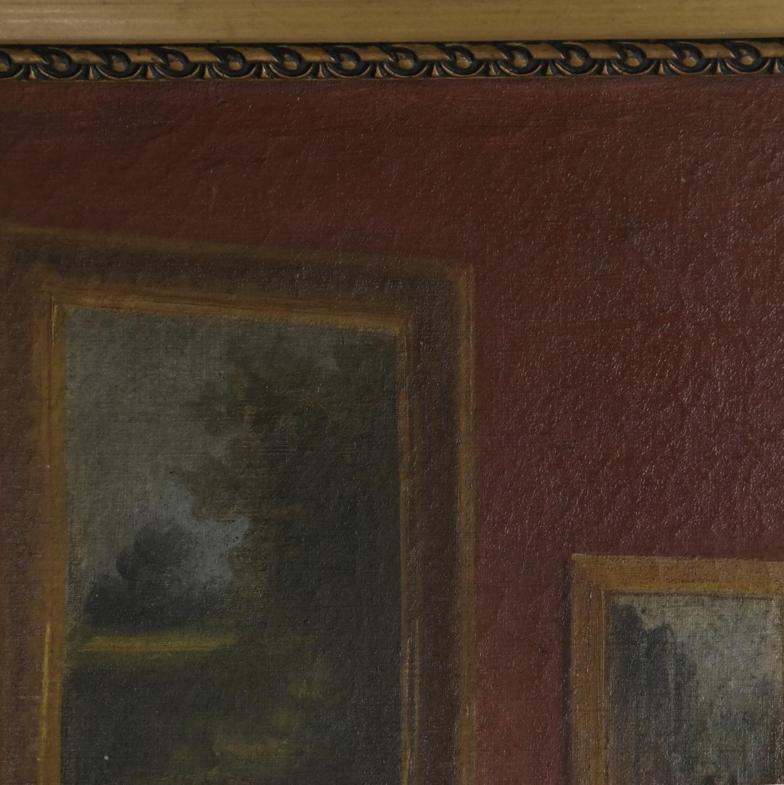 Winkler - Interior Scene - Oil on Canvas - 6