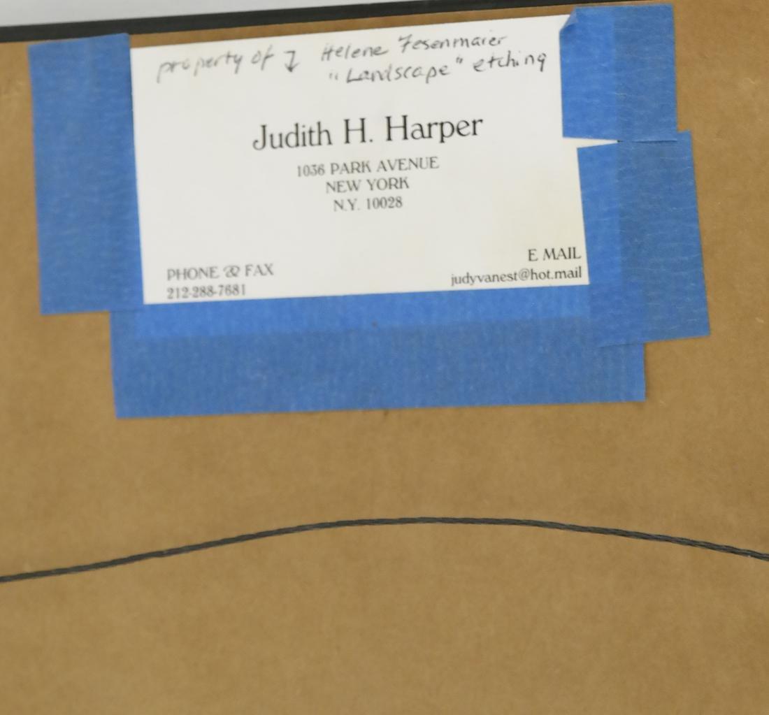 Helen Fesenmaier - Landscape - Etching - 7