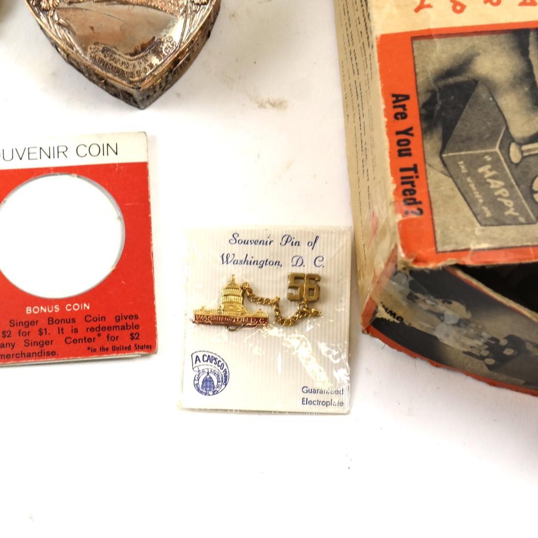 Political Pins and Memorabilia - Kennedy and Nixon - 4