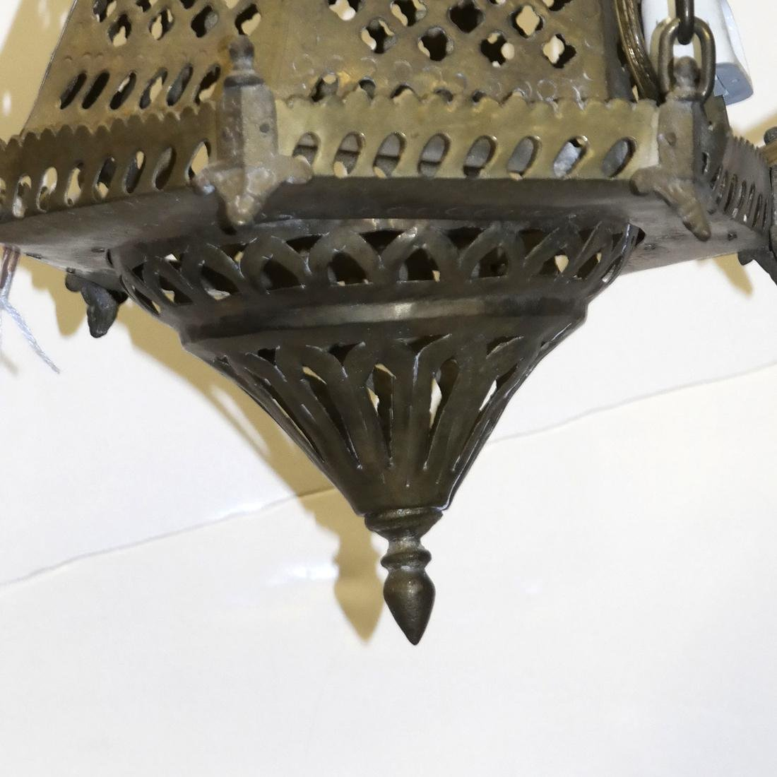 Lighthouse-Form Reticulated Lantern - 3