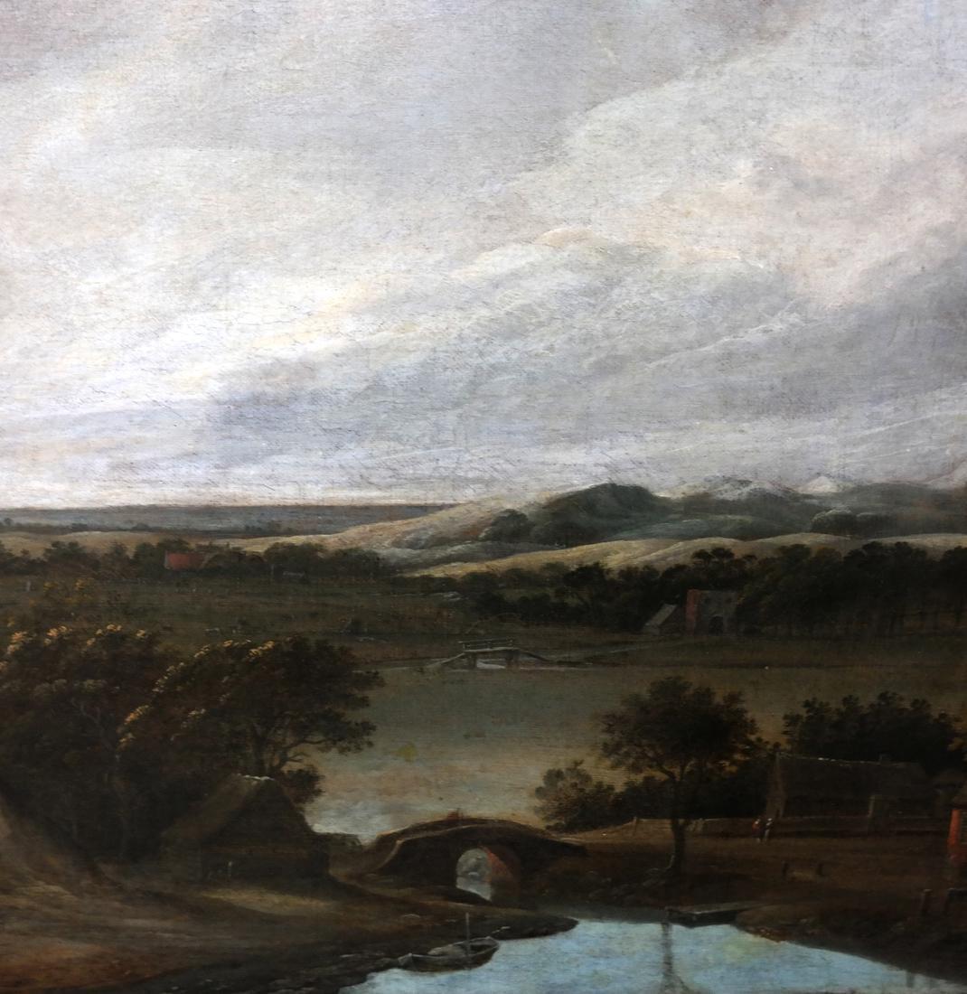 Philip De Koninck - Panoramic Landscape - Oil on Canvas - 3