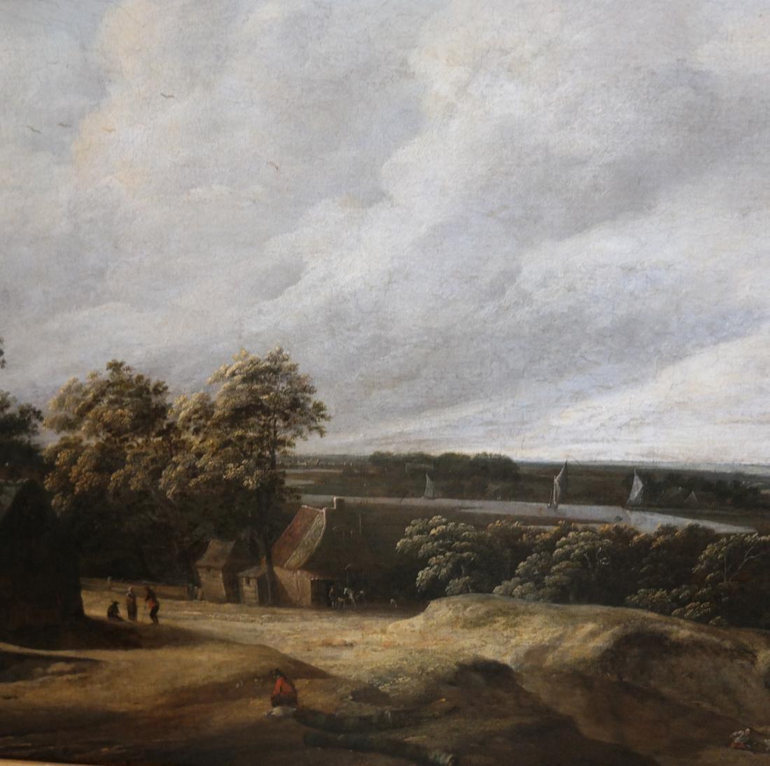 Philip De Koninck - Panoramic Landscape - Oil on Canvas - 4