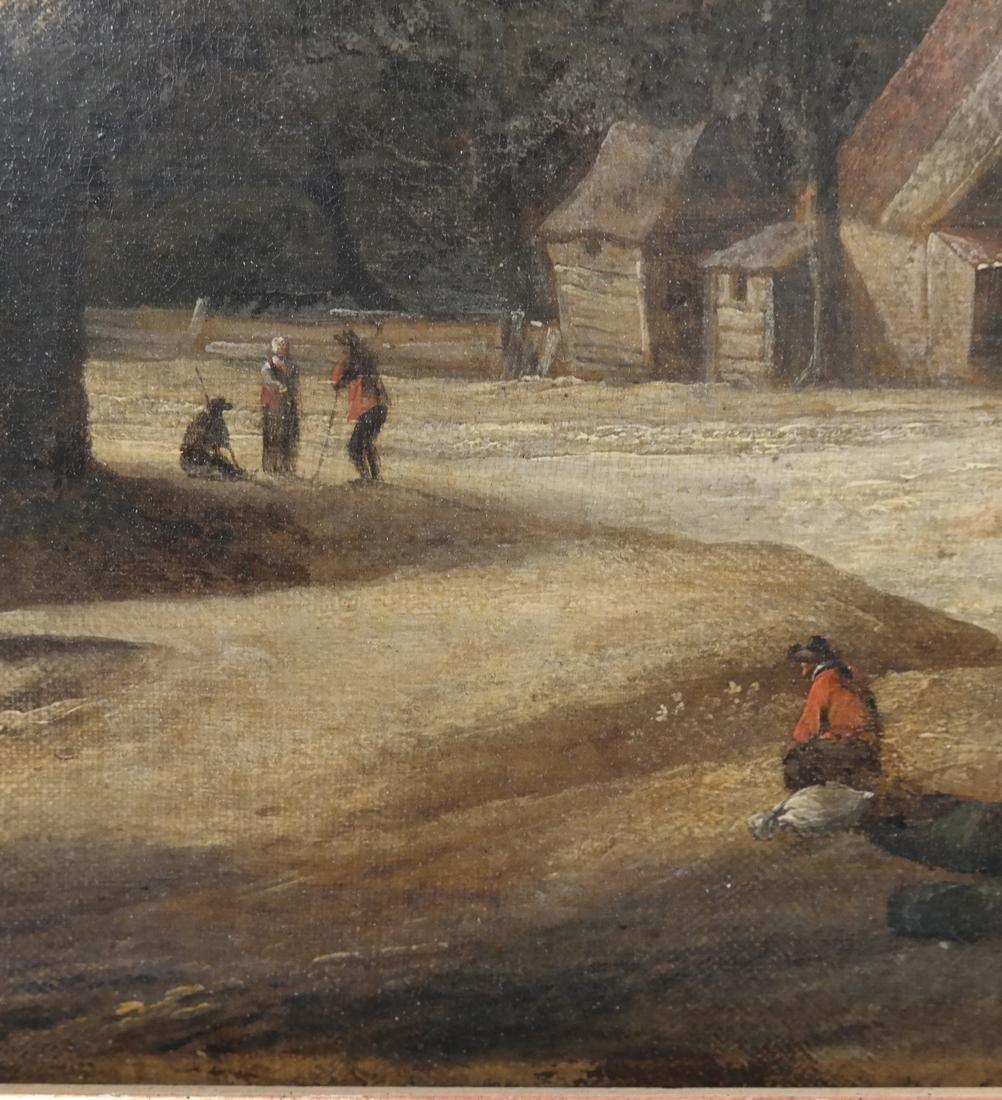 Philip De Koninck - Panoramic Landscape - Oil on Canvas - 7