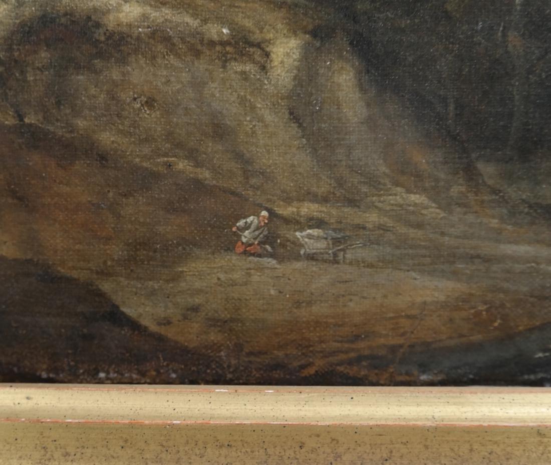 Philip De Koninck - Panoramic Landscape - Oil on Canvas - 8