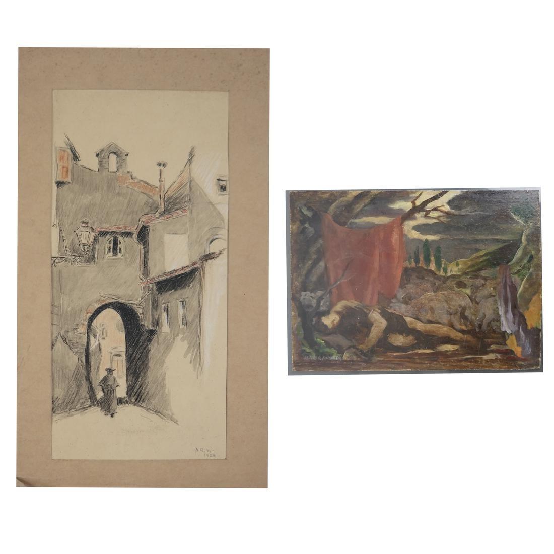 Classical Art Works - Figure and Street Scene (2)