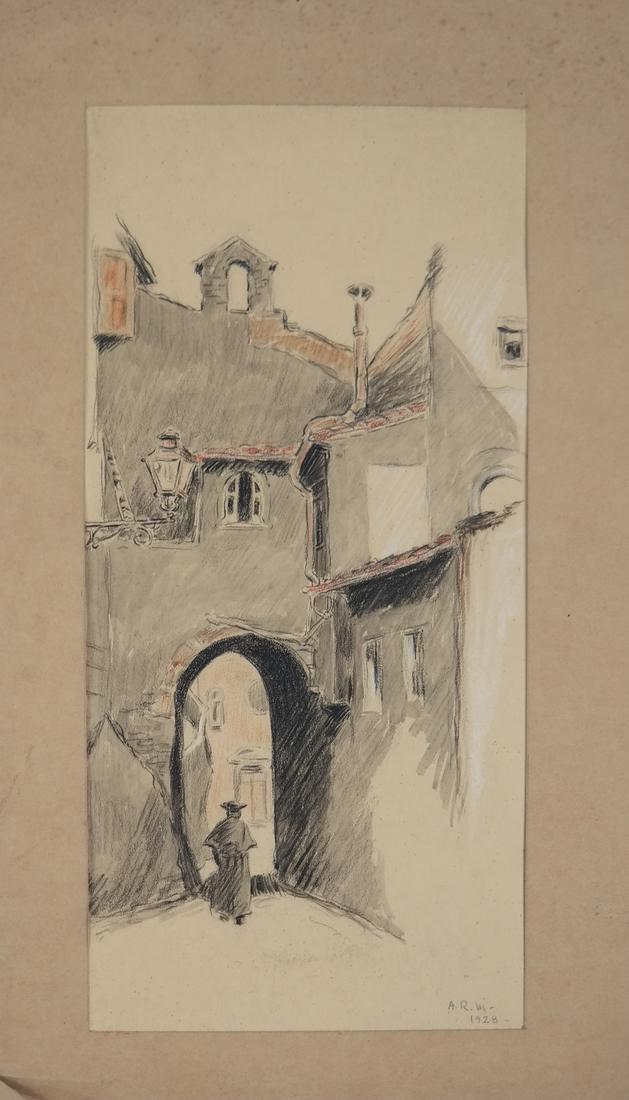 Classical Art Works - Figure and Street Scene (2) - 3