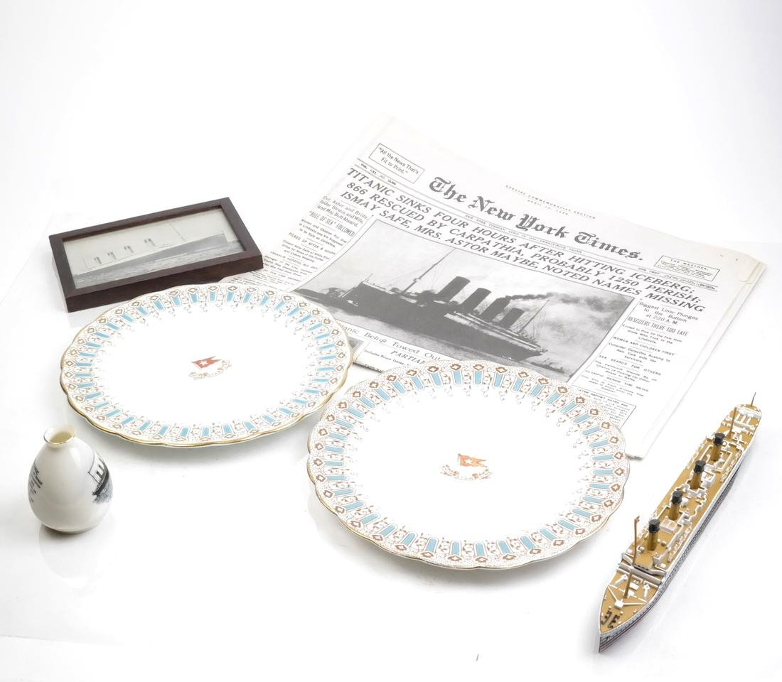 White Star Lines and Titanic Commemorative Articles