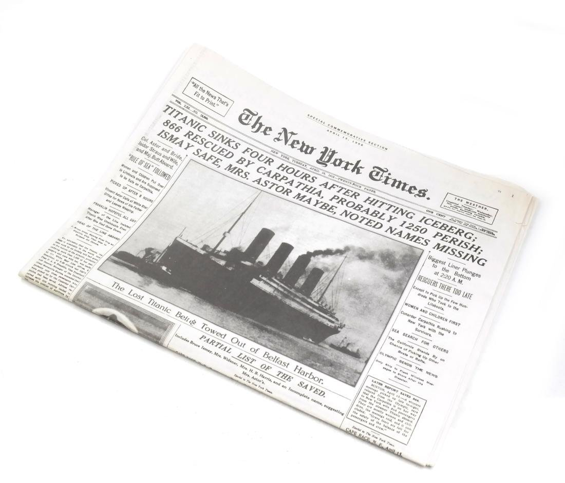 White Star Lines and Titanic Commemorative Articles - 2