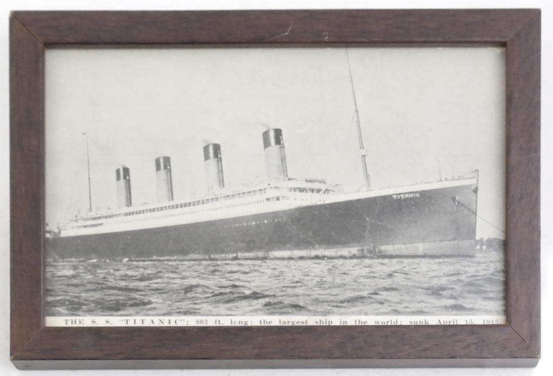 White Star Lines and Titanic Commemorative Articles - 8