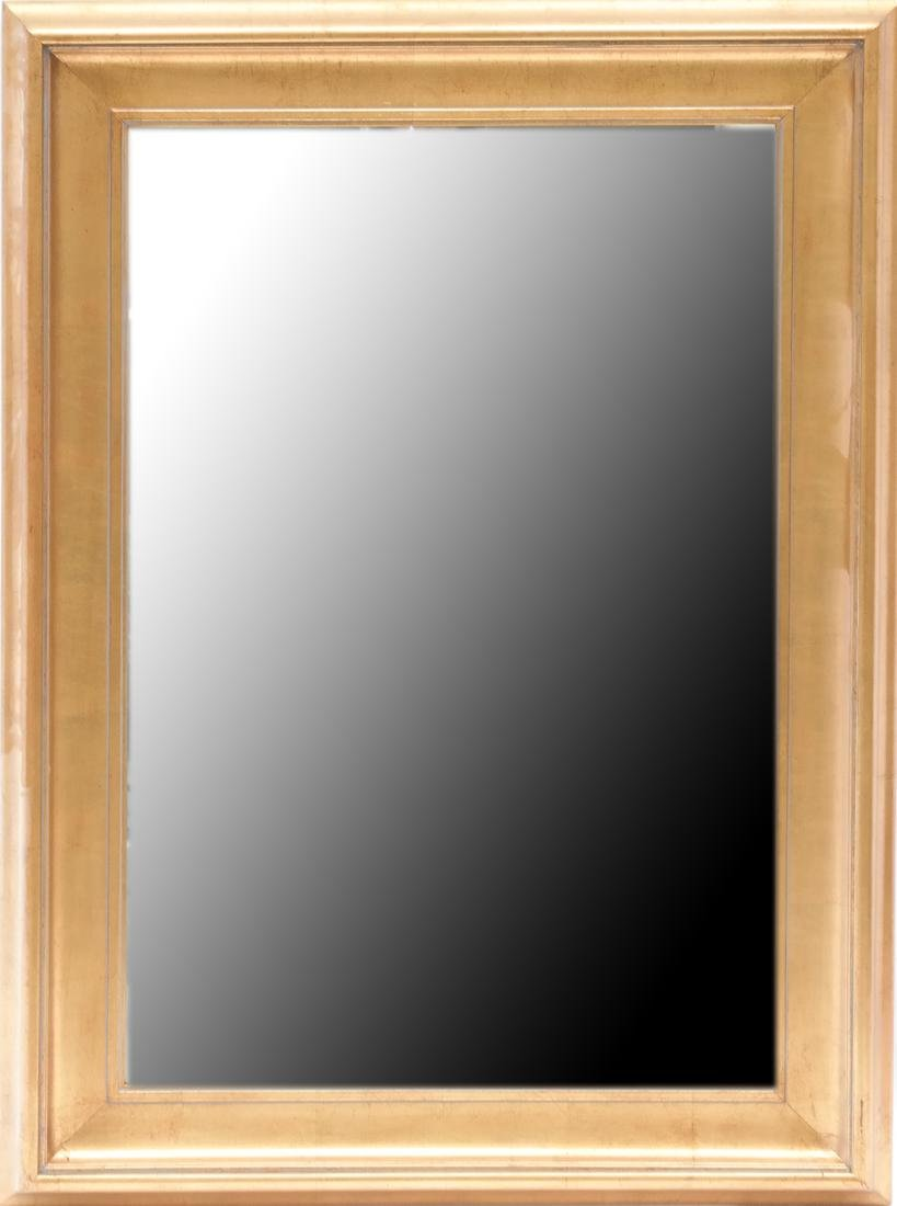 Gilt Beveled Glass Mirror