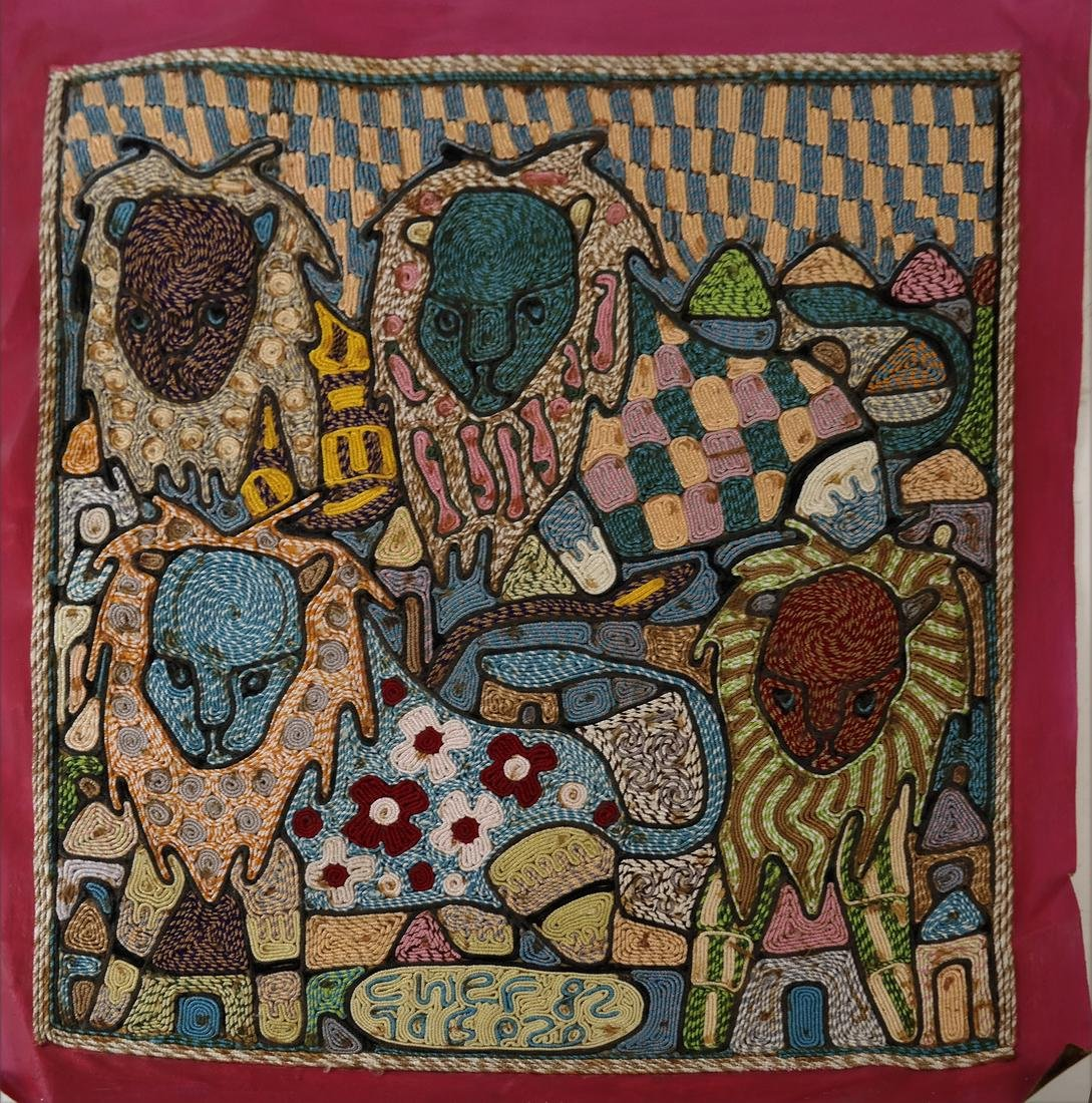 Cwef, Three African Decorated Textiles - 6