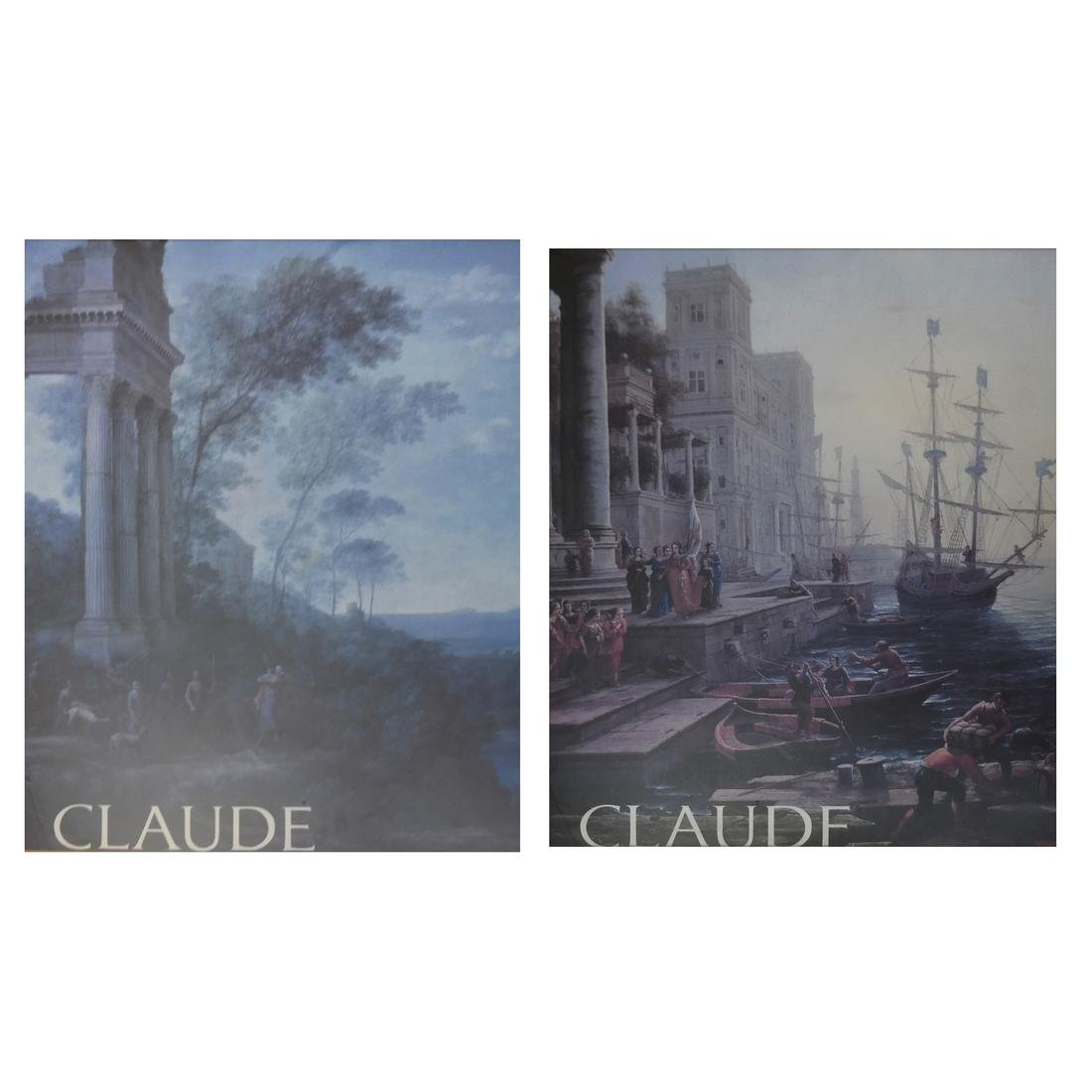 Claude - Two Prints - One Figural, One Ruin