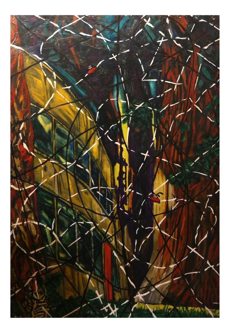 Robert Kitchen - Abstract Acrylic on Canvas