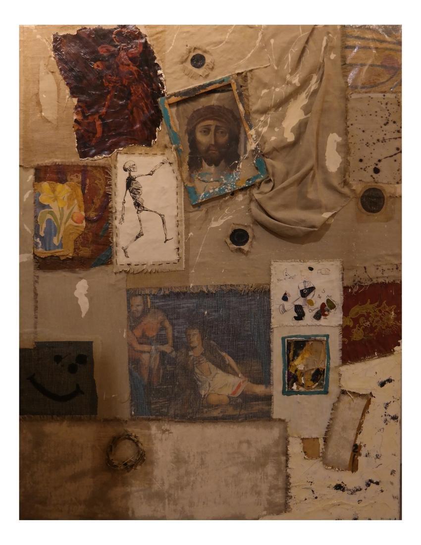 Robert Kitchen Abstract Collage