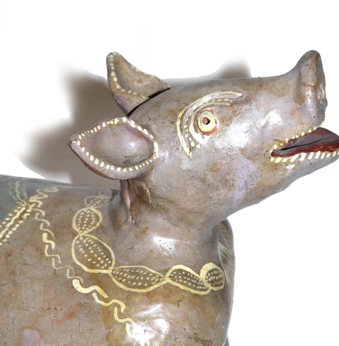 Ceramic Erotica - Cow Centerpiece - 2