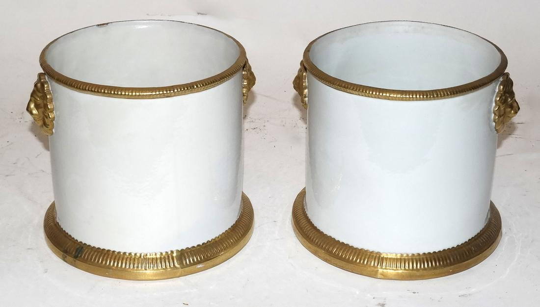 Pair of Classical-Style Cachepots