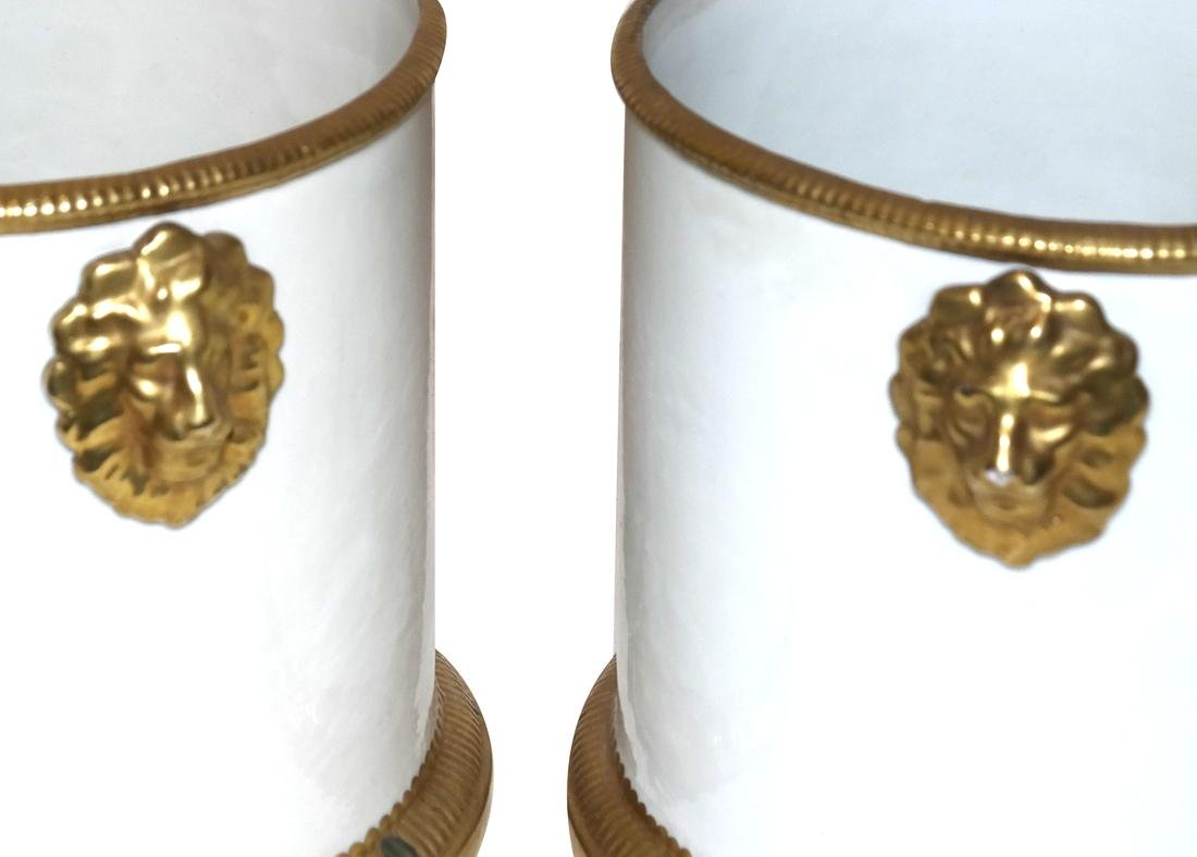 Pair of Classical-Style Cachepots - 2