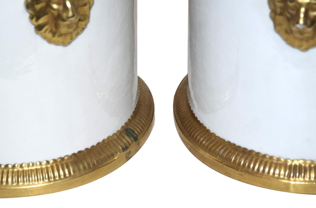 Pair of Classical-Style Cachepots - 3