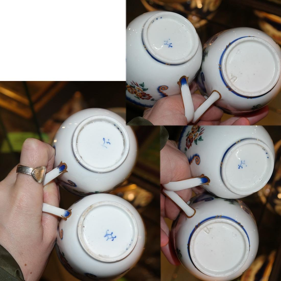 12-Piece Sevres Cups and Saucers - 5