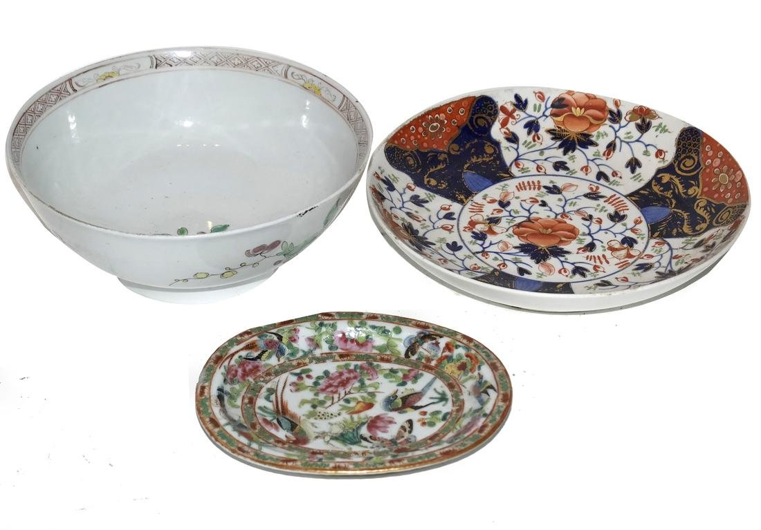Three Asian Decorated Items