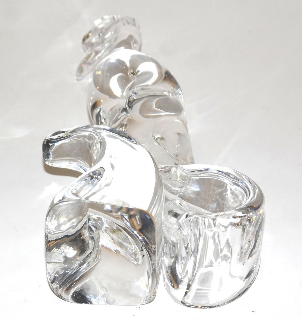 Steuben Glass Sculpture Of A Bird - 5