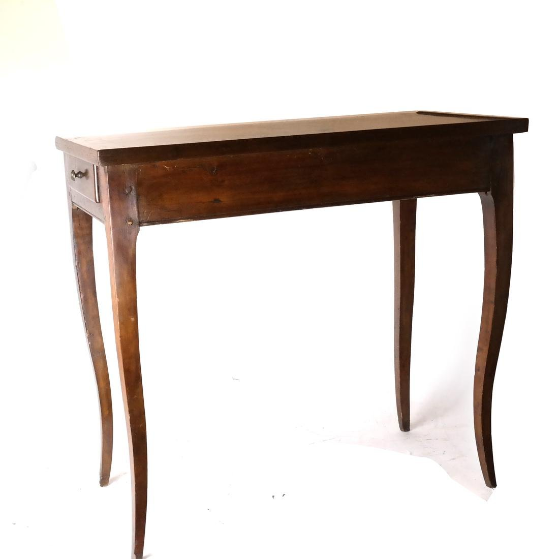 19th C. Continental Single-Drawer Table