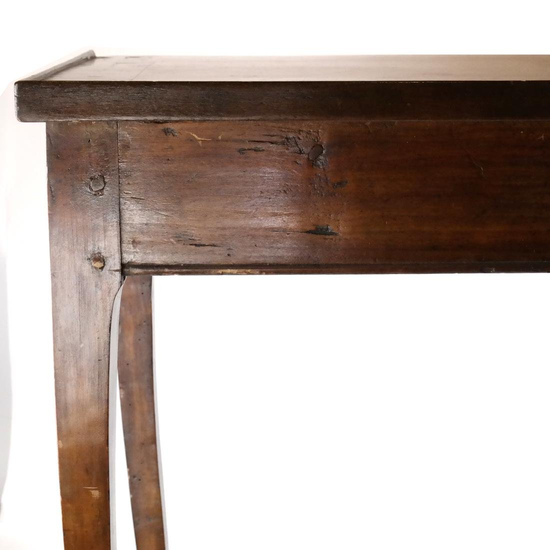 19th C. Continental Single-Drawer Table - 2