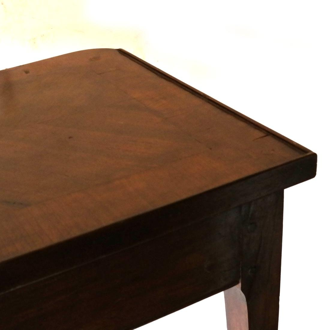 19th C. Continental Single-Drawer Table - 7