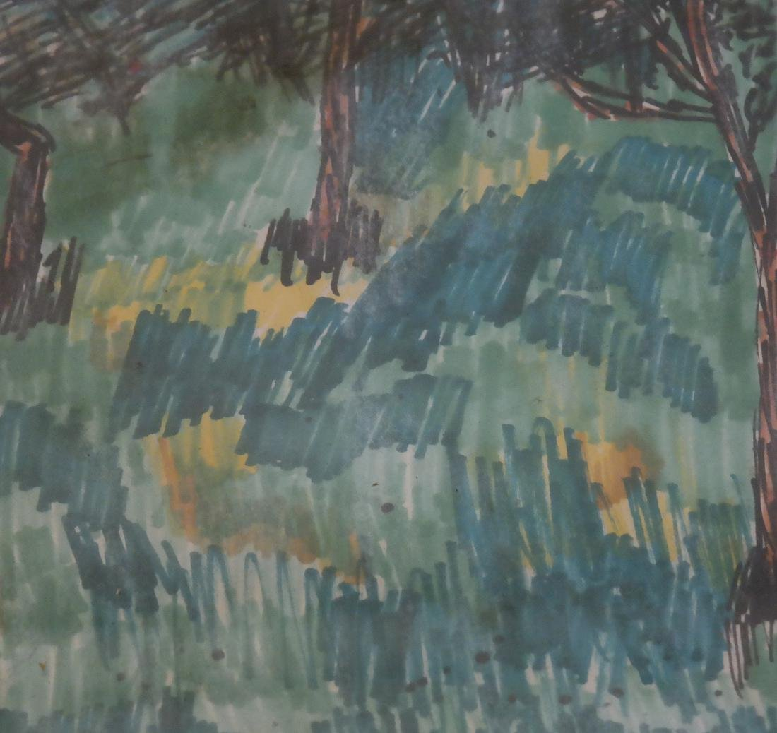 Mary Palatinus, Landscape - Watercolor - 3