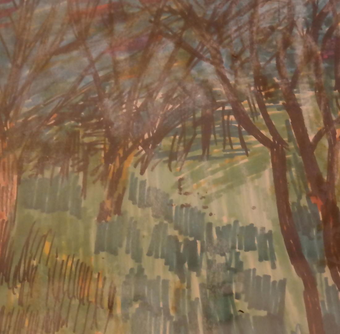 Mary Palatinus, Landscape - Watercolor - 4