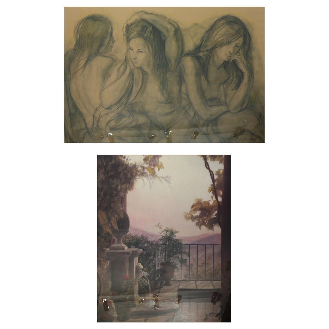 Schonberg: Veranda Scene, Three Women