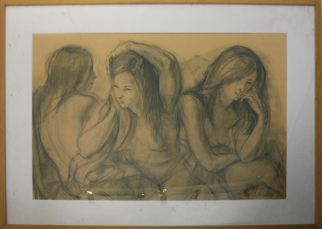Schonberg: Veranda Scene, Three Women - 2