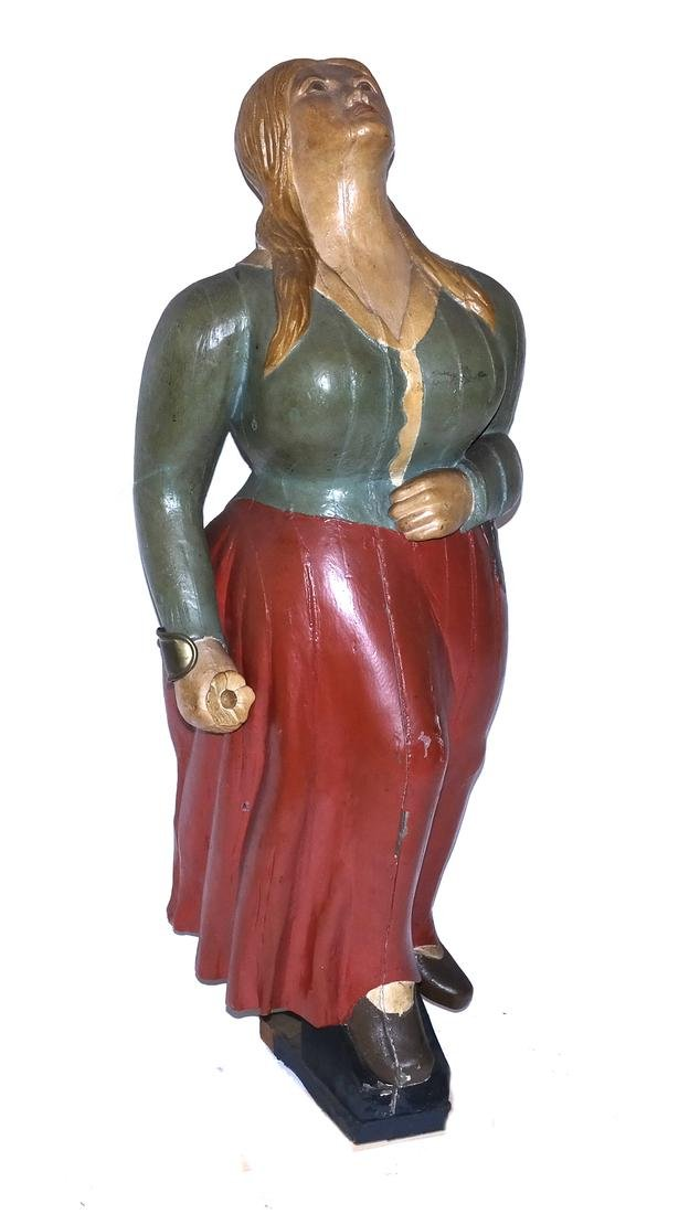 Painted Ship's Figurehead