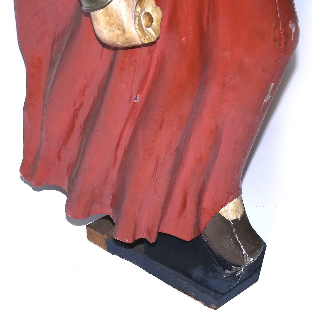 Painted Ship's Figurehead - 4
