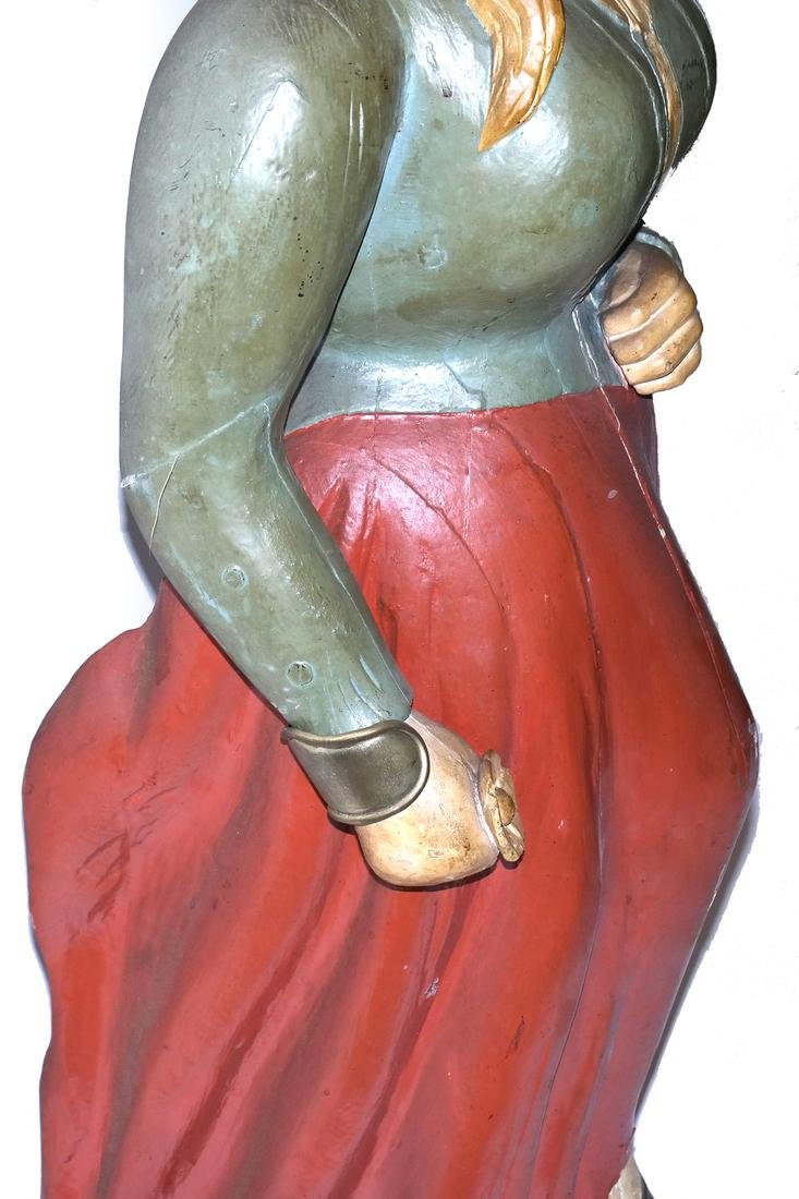 Painted Ship's Figurehead - 5