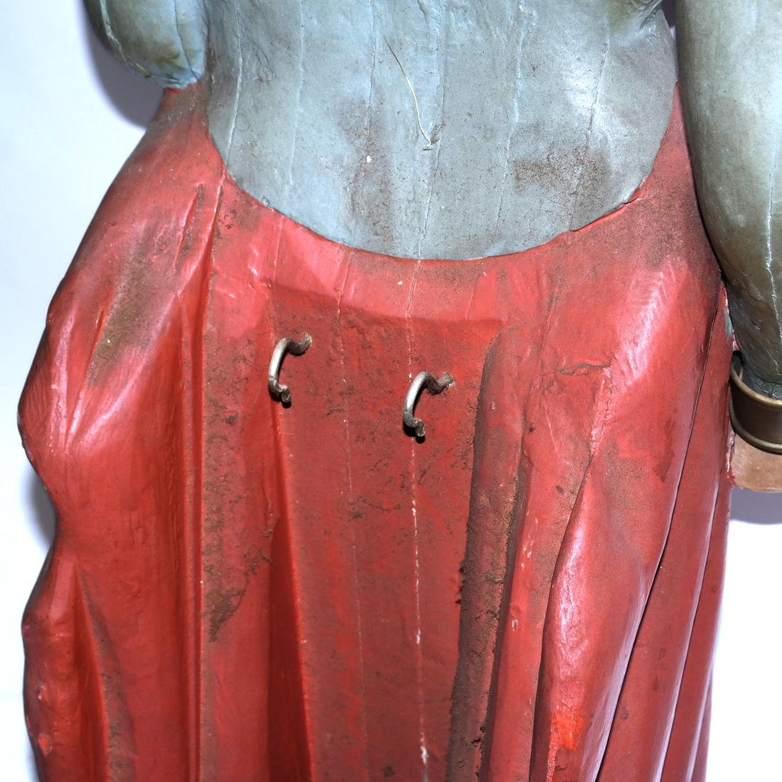 Painted Ship's Figurehead - 7
