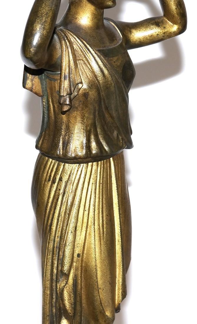Pair of Classical Bronze Figures - 4