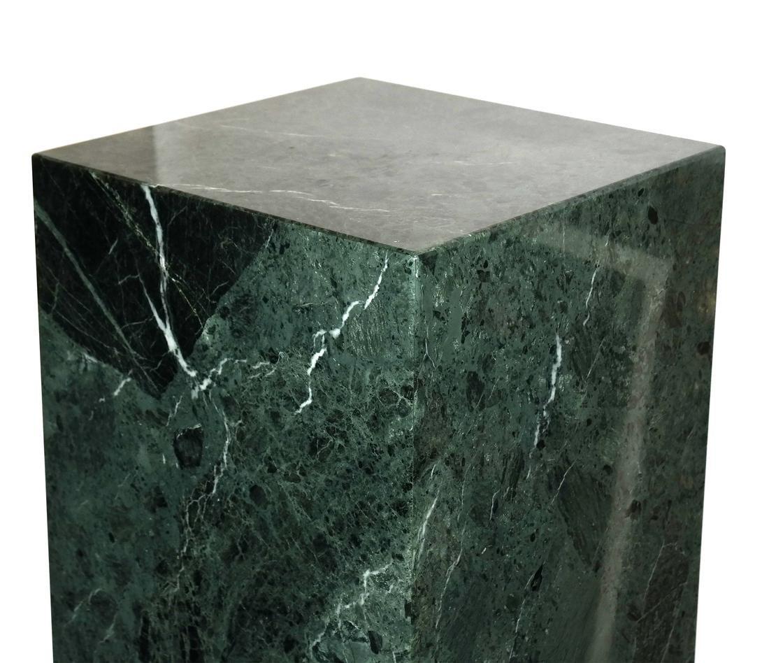 Verde Green Marble Pedestal - 2