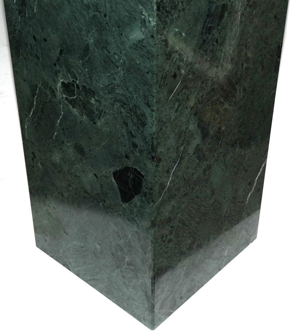 Verde Green Marble Pedestal - 3