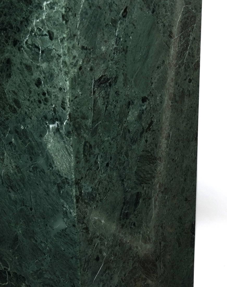 Verde Green Marble Pedestal - 4