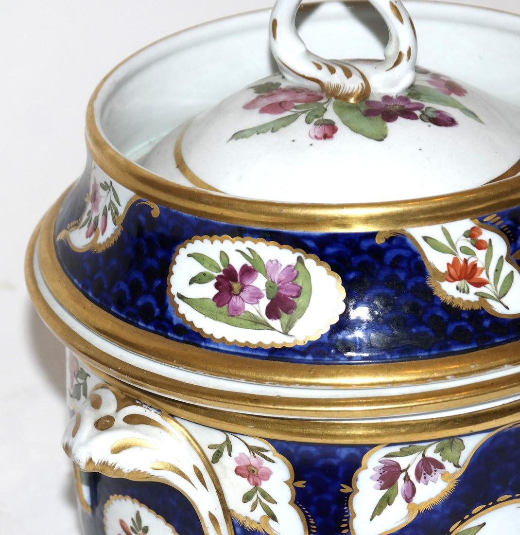Pair of French Jacob Petite Covered Urns - 3