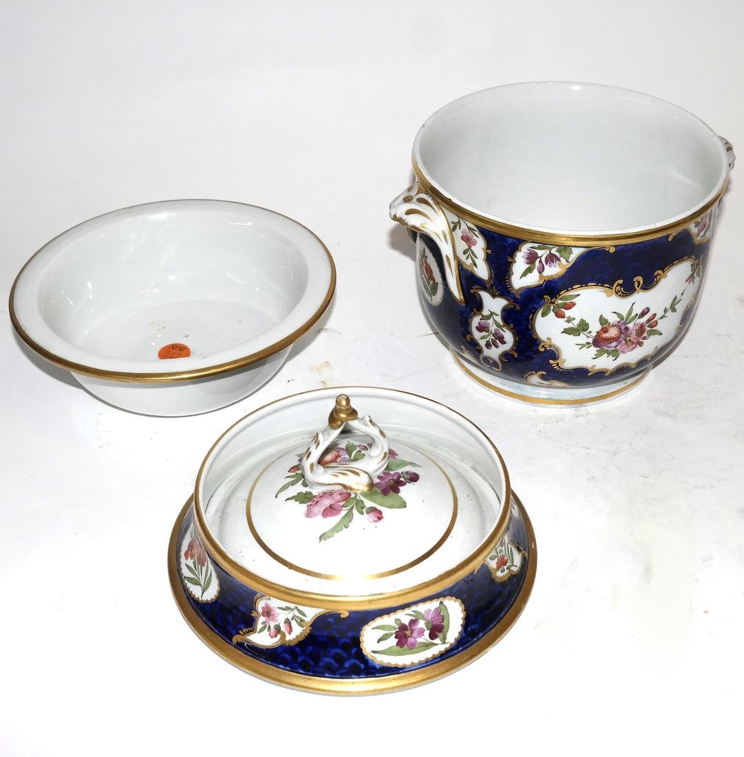Pair of French Jacob Petite Covered Urns - 7