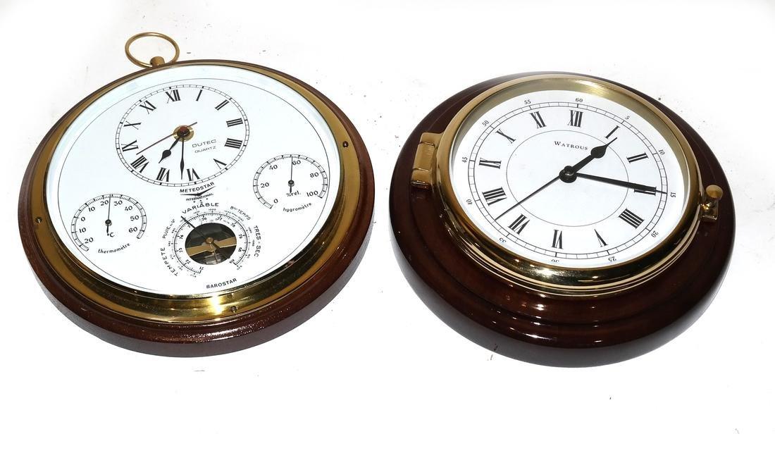 Ships Clock and Barometer