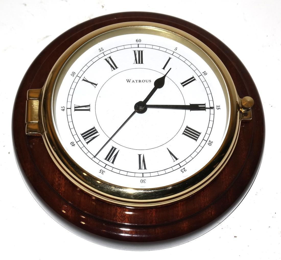 Ships Clock and Barometer - 2