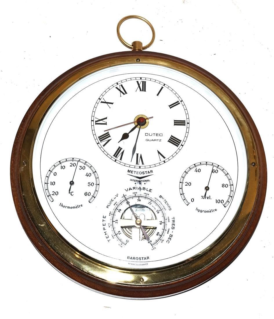 Ships Clock and Barometer - 4