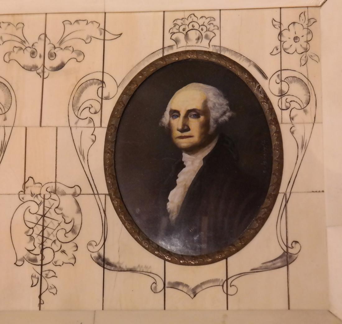 G. Washington and A. Lincoln Miniatures - 2