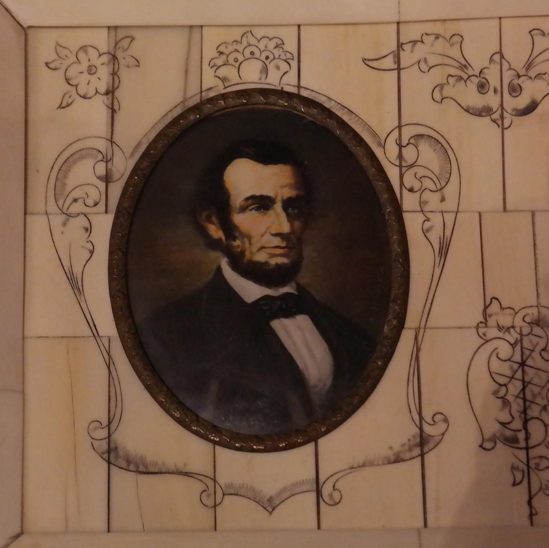 G. Washington and A. Lincoln Miniatures - 3